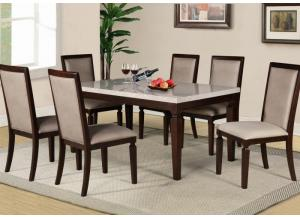 Britney Table and 6 Chairs-LIMITED QUANTITY