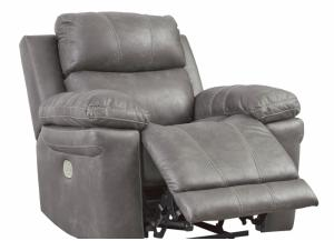Image for Carbon Power Recliner with Adjustable Headrests