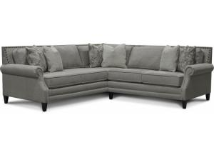 Livie 2 Piece Sectional-Able to Customize