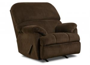 Dover Coffee Rocker Recliner