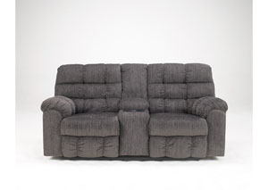 Kingsley Double Reclining Loveseat w/ Console