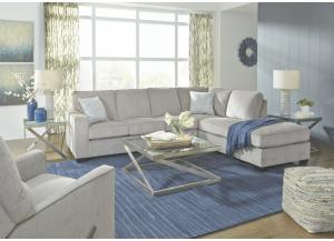 Belmont Alloy 2 Piece LAF Sofa Sectional