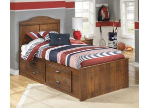 Stephan Twin Panel Storage Bed