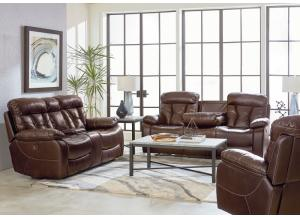 Peoria Reclining Sofa and Reclining Loveseat