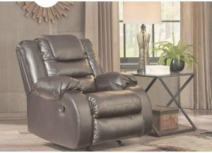 Alliston Brown Rocker Recliner