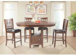 Max Storage Base Table and 4 Side Chairs