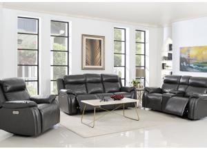 Vigo Power Reclining Sofa with Power Headrest
