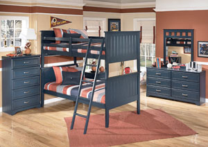 Summer Breeze Twin/Twin Bunk Bed
