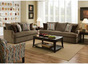 Grandstand Sofa and Loveseat