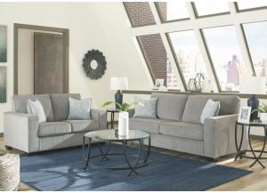 Belmont Alloy Sofa and Loveseat