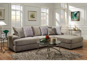 Fusion 2 Piece Sectional-LIMITED QUANTITY