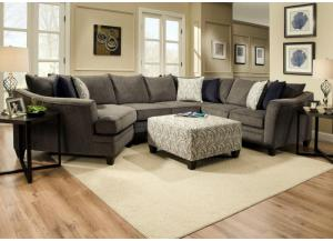 Image for Alby Pewter Sectional