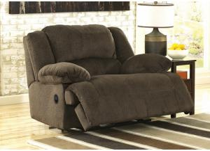 Linden POWER Chocolate Wide Seat Recliner