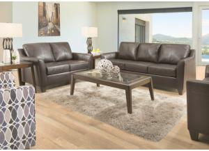 Image for Austin Leather Loveseat