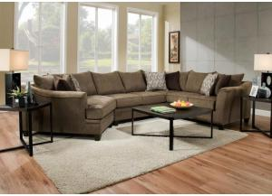 Image for Alby Truffle Sectional