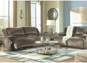 Image for Brighton Chocolate Reclining Sofa