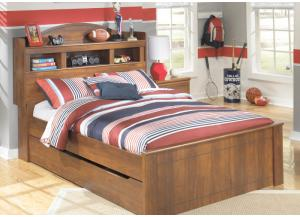 Stephan Twin Bookcase Bed with Trundle