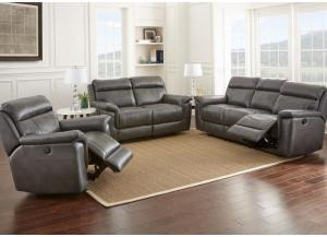 Duncan Reclining Sofa and Reclining Loveseat- 1 FLOORSAMPLE LEFT BORDENTOWN
