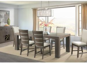 Grady Table, 6 Side Chairs and Server