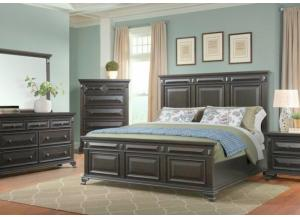 Image for Calloway Queen Bed, Dresser and Mirror
