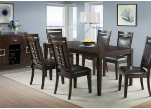 Rodney Table and 6 Chairs