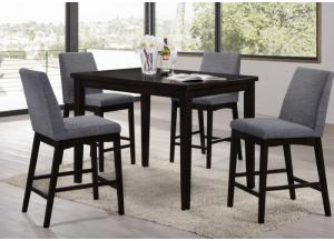 Palazzo Table and 4 Stools