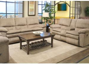 Reyes Power Lay Flat Reclining Sofa and Power Lay Flat Reclining Loveseat