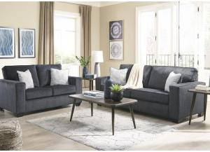 Belmont Sofa and Loveseat,Jaron's Showcase