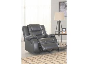 Alliston Black Rocker Recliner