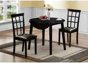 Darcy Drop Leaf Table and 2 Chairs,Jaron's Showcase