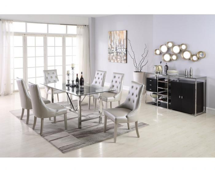 D1862- TABLE & 6 CHAIRS,Jerusalem Furniture