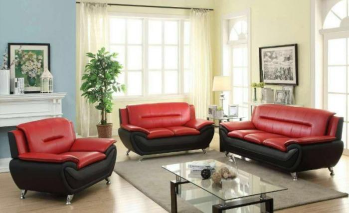 U076-SOFA AND LOVESEAT,Jerusalem Furniture