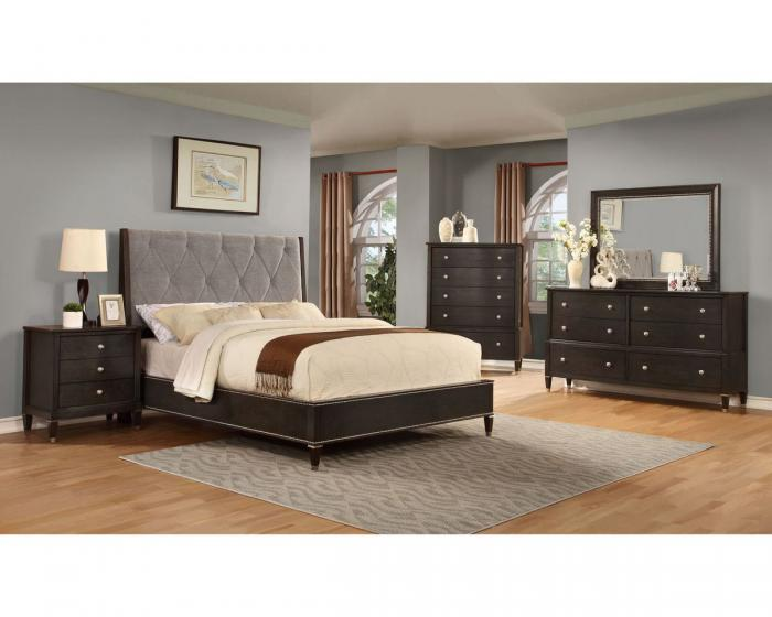 B8285 QUEEN BED, DRESSER, MIRROR, 1 NIGHT STAND,Jerusalem Furniture