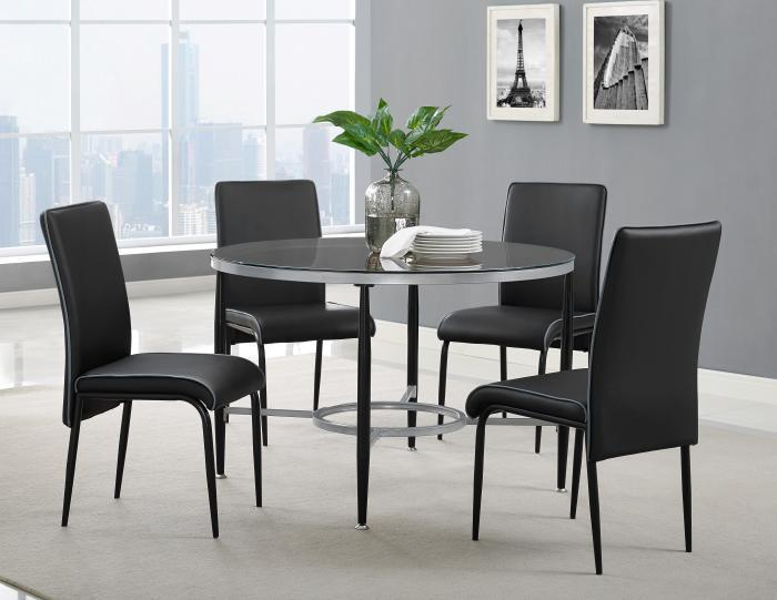 D4505- TABLE & 4 CHAIRS,Jerusalem Furniture