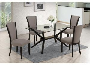 D3360- TABLE & 4 CHAIRS