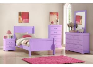 Image for B292- FULL BED, DRESSER, MIRROR, CHEST, 1 NIGHT STAND