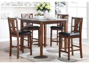 Image for D1426- PUB TABLE & 4 STOOLS
