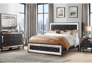 CORDOBA- QUEEN BED, DRESSER, MIRROR, 1 NIGHT STAND