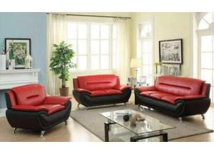 U076-SOFA AND LOVESEAT