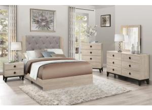 Image for B1524- Queen bed, Dresser, Mirror, Chest, 1 Night-Stand