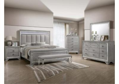 Image for B7200- KING BED, DRESSER, MIRROR, 1 NIGHT STAND