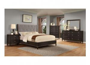 B8285 QUEEN BED, DRESSER, MIRROR, 1 NIGHT STAND