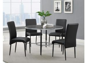D4505- TABLE & 4 CHAIRS