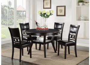 1701 TABLE, 4 CHAIRS