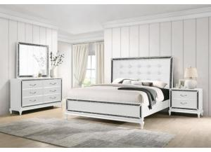 Image for B0931- KING BED, DRESSER, MIRROR, 1 NIGHT STAND