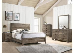 Image for B9200- QUEEN BED, DRESSER, MIRROR, CHEST, 1 NIGHT STAND