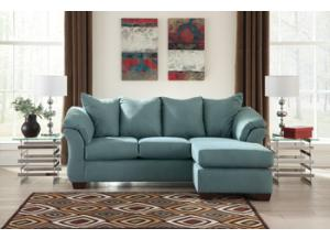 Darcy Sky Sofa Chaise