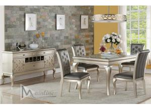 D313 TABLE & 4 CHAIRS