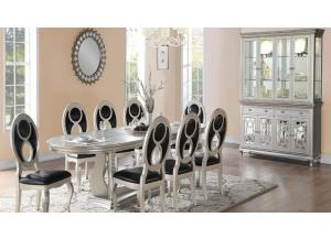 Image for SHANIA TABLE & 6 CHAIRS