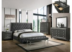 Image for B7900- QUEEN BED, DRESSER, MIRROR, 1 NIGHT STAND